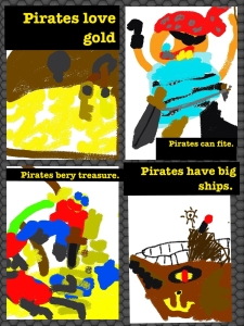 pirate pic collage